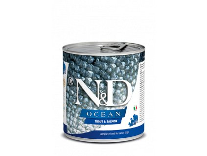 Farmina N&D Dog Ocean Trout & Salmon (285 g)