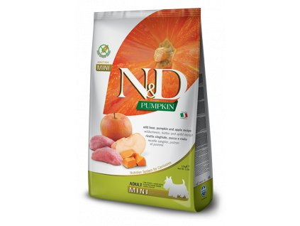N&D Dog Pumpkin Boar & Apple Adult Minii (0,8 - 7 kg)