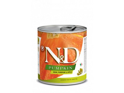 Farmina N&D Dog Pumpkin Boar, Pumpkin & Apple Adult (285 g)