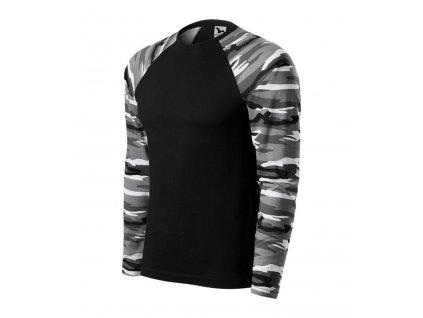 CAMOUFLAGE LS 166 unisex tričko s dlhým rukávom