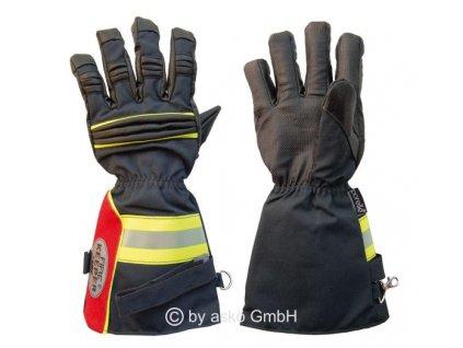 ASKÖ FIRE KEEPER zásahové rukavice (dlhá manžeta)