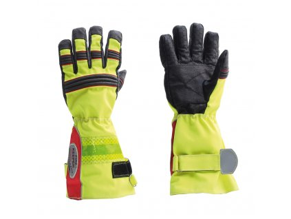 ASKÖ FIRE KEEPER HEXAGON zásahové rukavice (dlhá manžeta)