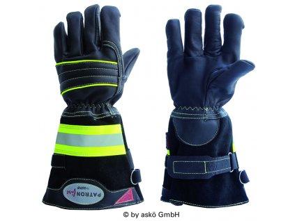 ASKÖ PATRON FIRE zásahové rukavice (dlhá manžeta)