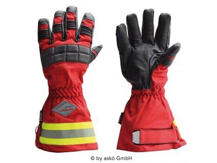 ASKÖ PATRIOT FIREPROOF zásahové rukavice (dlhá manžeta)