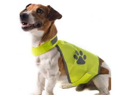 Jim&Bones Bezpečnostná reflexná vesta pre psa