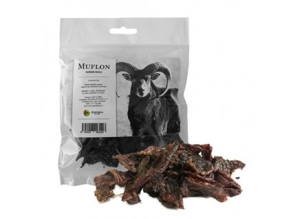 Bohemia Pet Food, MUFLÓN - sušené mäso 50g
