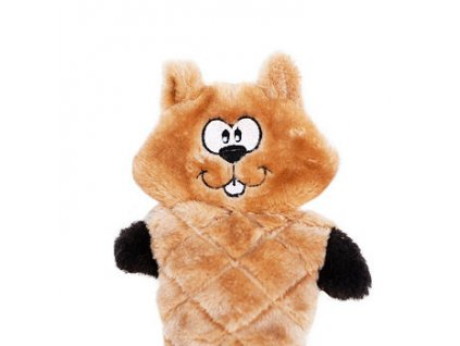 ZippyPaws Jigglerz - Veverička - hračka pre psa