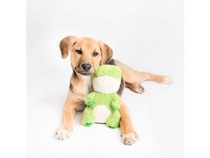 ZippyPaws CheekyChumz - Žaba - hračka pre psa