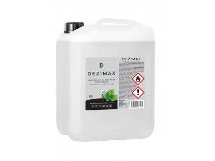 DEZIMAX dezinfekčný prostriedok na báze alkoholu (10L)