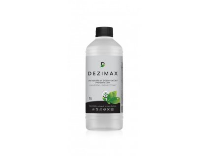 DEZIMAX dezinfekčný prostriedok na báze alkoholu (1L)