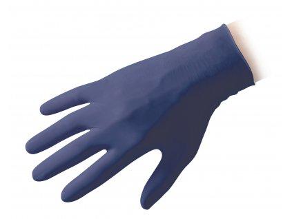ReflexxCare jednorazové rukavice nitrilové, modré, bal. 100ks