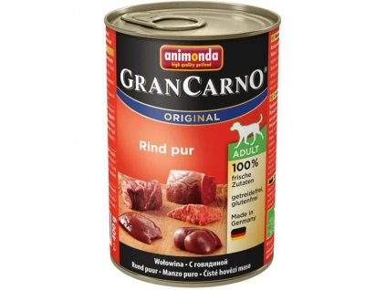 Animonda GRANCARNO® dog adult hovädzie (400g)