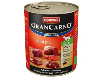 Animonda GRANCARNO® dog adult hovädzie (800g)
