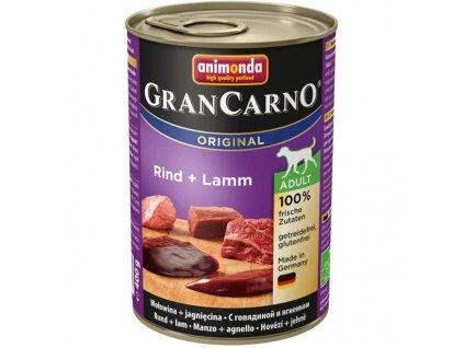 Animonda GRANCARNO® dog adult hovädzie a jahňa (400g)