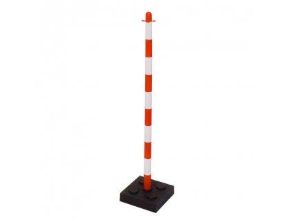 Plastový stĺpik so štvorcovou zábranou