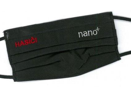Ochranné bavlnené rúško HASIČI, s nanofiltrom