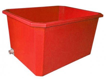 Požiarna nádrž 1000L - modrá