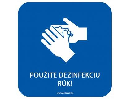 dezinfekcia ruk