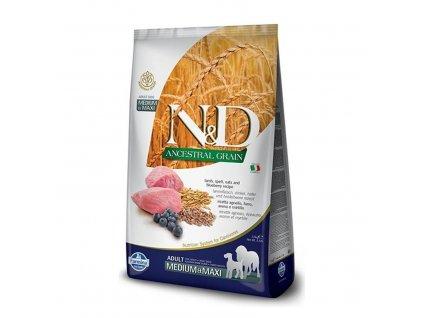 N&D Dog LG Lamb, spelt, oats & Blueberry (2,5 kg)