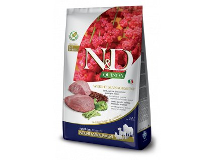 N&D Quinoa Dog Adult Weight Management Lamb (2,5 kg)