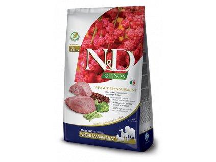 N&D Quinoa Dog Adult Weight Management Lamb (7 kg)