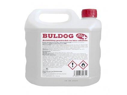 Dezinfekčný prostriedok na báze alkoholu BULDOG (3L)