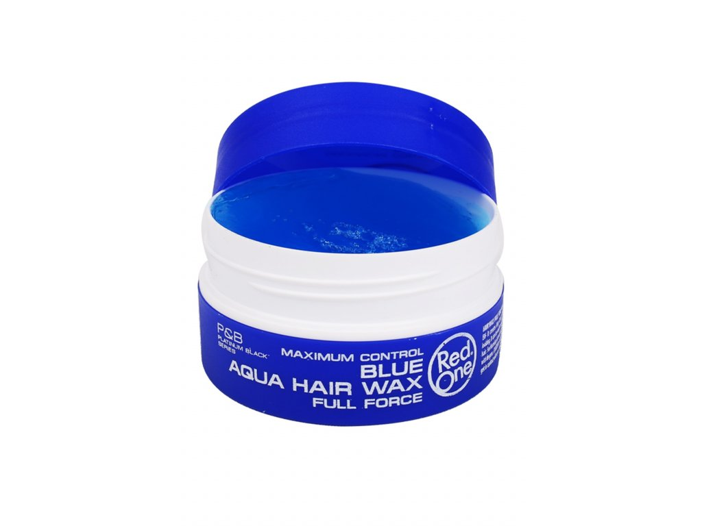 37 3 red one aqua hair wax blue 150ml 2018