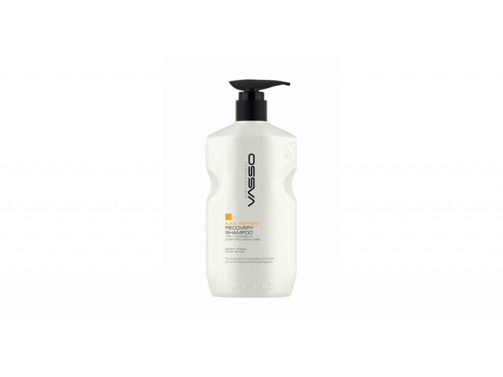 vasso women yipranmis saclar icin acil kurtarma sampuani vasso s o s treatment recovery shampoo 500 ml