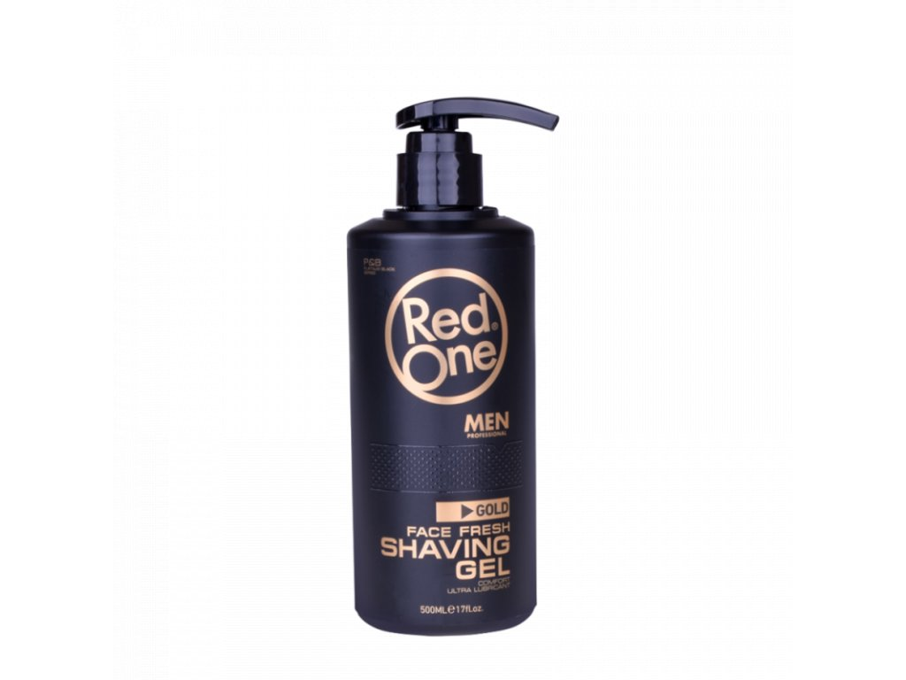 red one face fresh gold shaving gel 500 ml