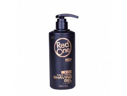 red one face fresh gold shaving gel 500 ml
