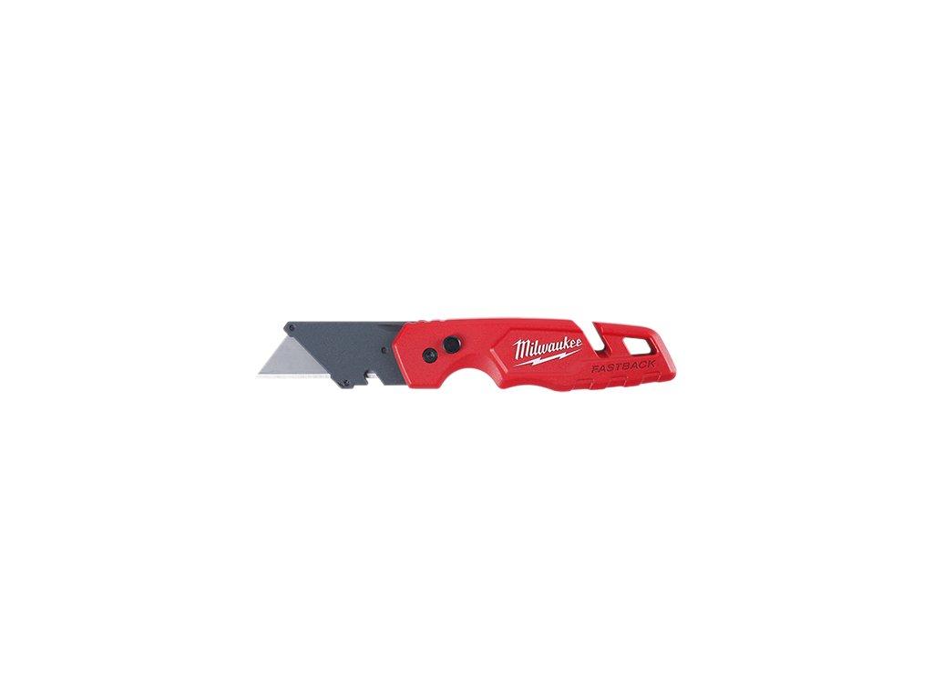 milwaukee zavírací nůž fastback 4932471357