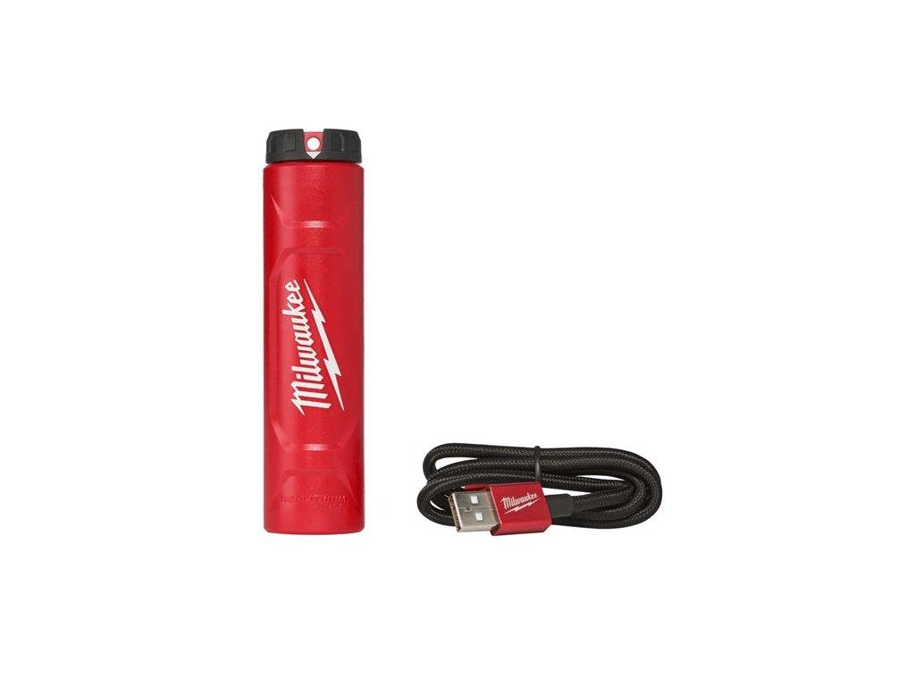 Milwaukee L4 C nabijecka redlithium USB 4932459446