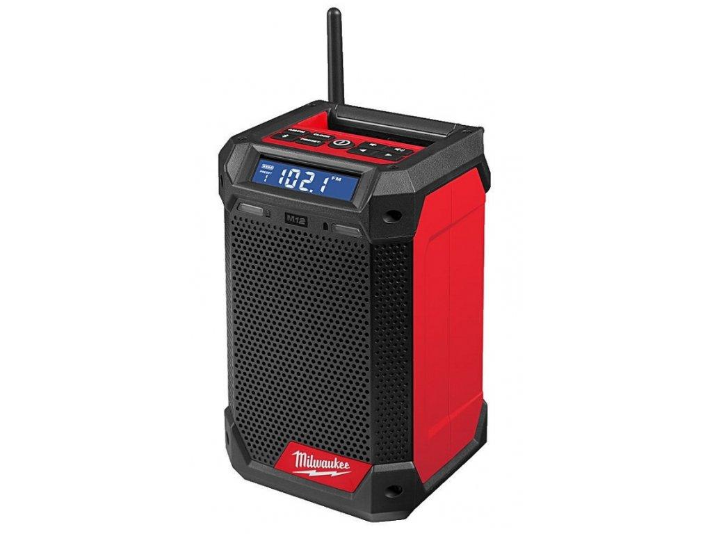 milwaukee m12 rcdab radio s nabijeckou 4933472114 detail