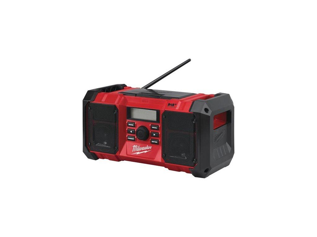 Milwaukee stavebni radio dab M18 JSR 4933451251 detail9
