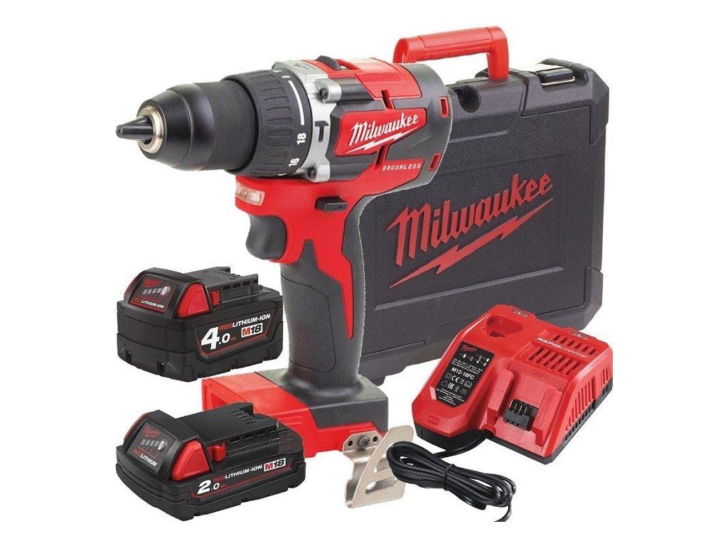 Milwaukee m18 cblpd 422c aku priklepova bezuhlikova vrtacka 4933472116