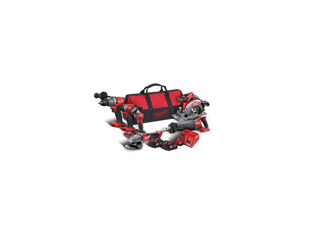 milwaukee M18 FPP6C2 502B akcni set naradi powerpack 4933464592