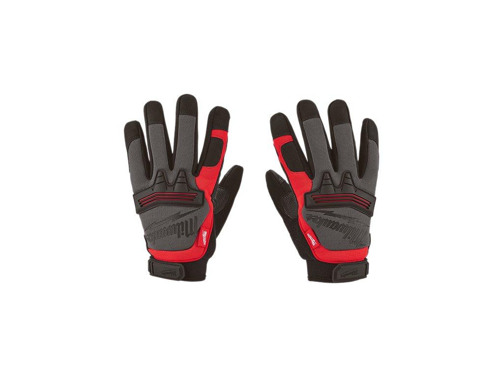milwaukee pracovni rukavice demolition gloves detail2
