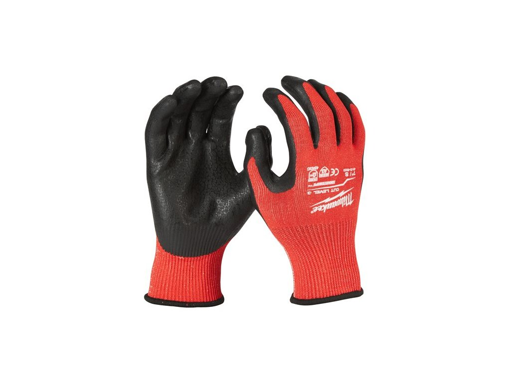 milwaukee pracovni rukavice odolne proti proriznuti stupen ochrany 3