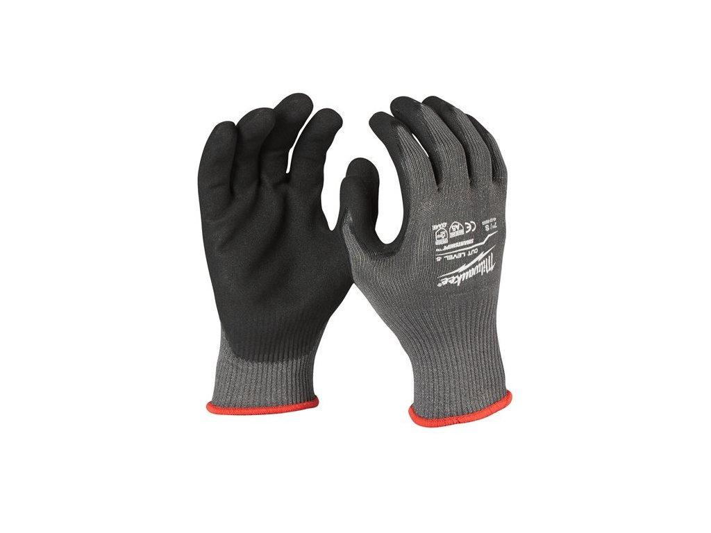 milwaukee pracovni rukavice odolne proti proriznuti stupen ochrany 5