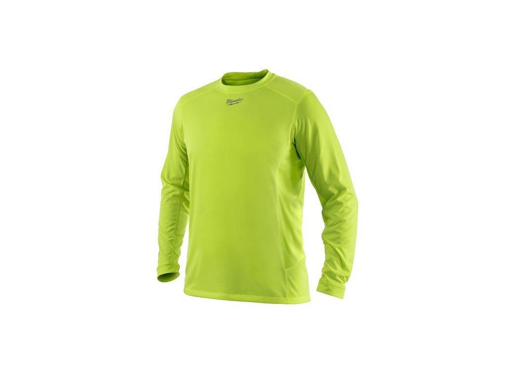 Milwaukee WWLSY lehke reflexni triko s dlouhym rukavem workskin