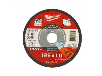 milwaukee rezny kotouc pro uhlove brusky CutWSCS41 125X1 PRO+ 4932451487