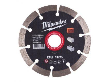 milwaukee DU 125 diamantovy kotouc 4932399522