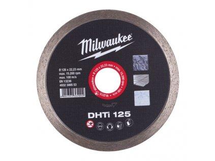 milwaukee diamantovy kotouc dhti125 4932399553