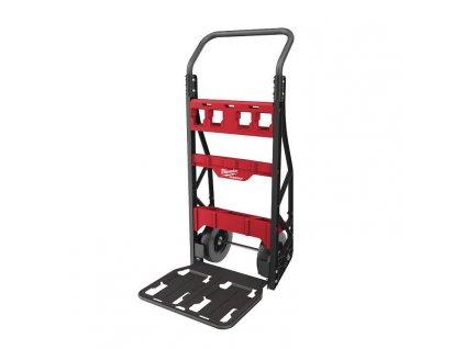 milwaukee dvoukolovovy vozik packout rudlik 4932472131