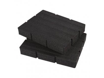 milwaukee penova vlozka pro packout box se 2 a 3 zasuvkami 4932479157