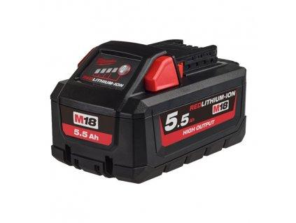 milwaukee akumulator M18 HB 5,5 HIGH OUTPUT baterie 4932464712