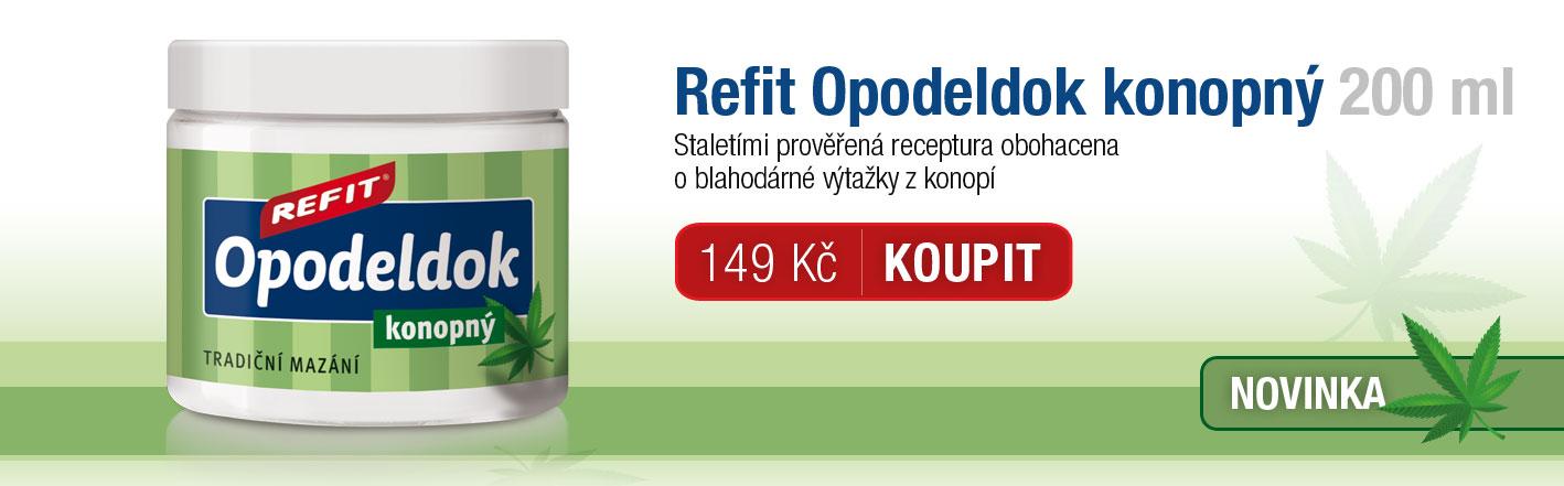 Refit Opodeldok konopný 200 ml