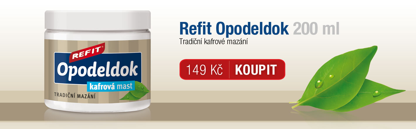 Refit Opodeldok kafrová mast 200 ml