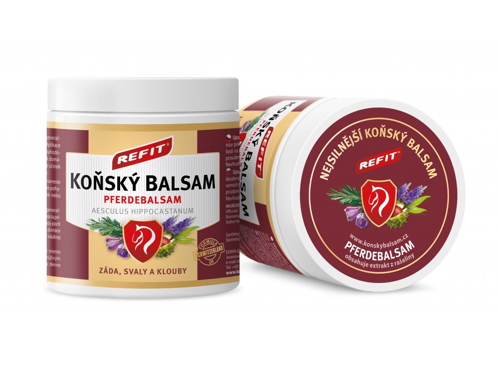 101 konsky balsam refit 230ml