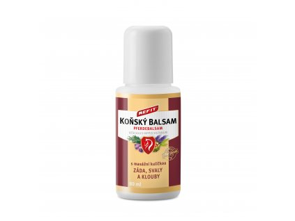 Konsky balsam Refit ROLL ON simulace 01
